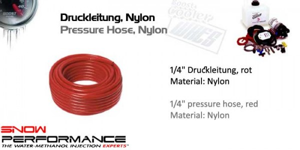 "Boost Cooler 1/4"" O.D. Druckleitung Nylon"