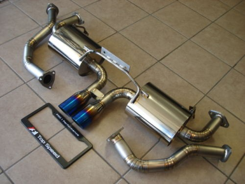 U/R Race Abgasanlage Titan - Boxster 987