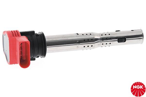 Einzel Zündspule R8-Style rot lange Version