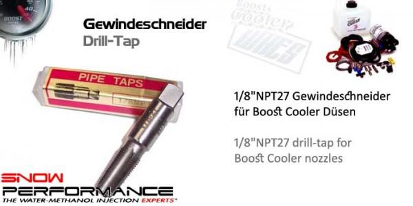"""Boost Cooler Gewindeschneider 1/8""""-NPT27"""
