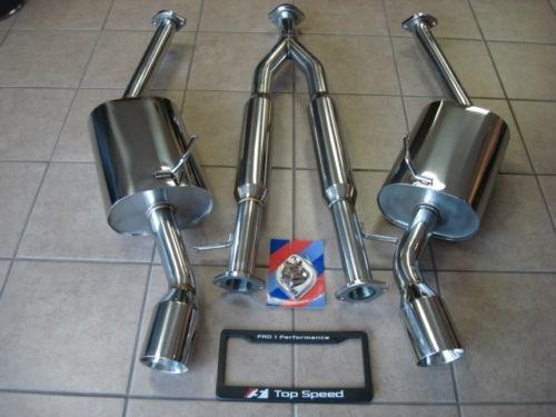 U/R Sport Abgasanlage Edelstahl - Q40 14-15