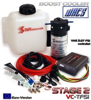 Boost Cooler Wassereinspritzung Stage 2 -TFSI