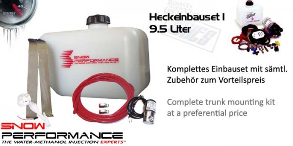 Boost Cooler 9.5L Komplettset für Heckinstallation