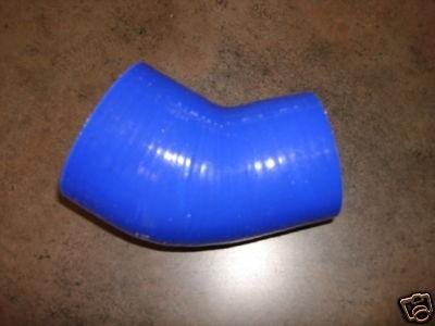 Silikonschlauch 45° Reduzierer 63-76mm