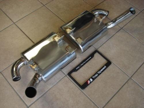 U/R Sport Abgasanlage Edelstahl - 911 996 Carrera / S C2 C4S