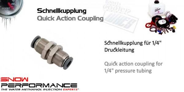 """Boost Cooler Schnellkupplung für 1/4"""" O.D. Druckleitung"""