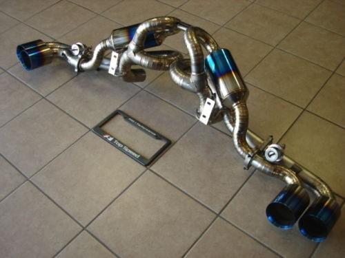 U/R Race Abgasanlage Titan mit Klappen - F430 05-09