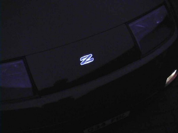 Glowing Z Logo